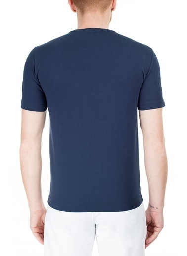 EA7 Emporio Armani  Regular Fit T Shirt Erkek T Shırt S 6Gpt09 Pj20Z 1554 Lacivert